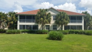 Waterfront Condo 2bed & den/2bath in Riverwood, Port Charlotte